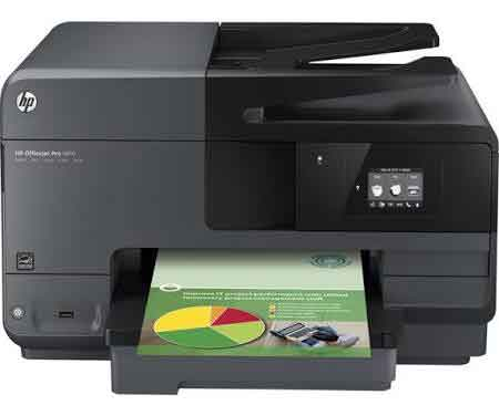 HP OfficeJet Pro 8610 All-in-One Color Photo Printer with Wireless and Instant Ink enabled