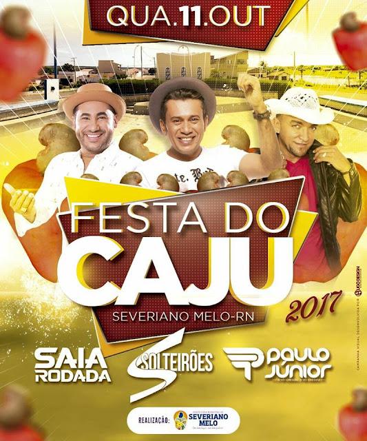 Resultado de imagem para Festa do Caju severiano melo 2017