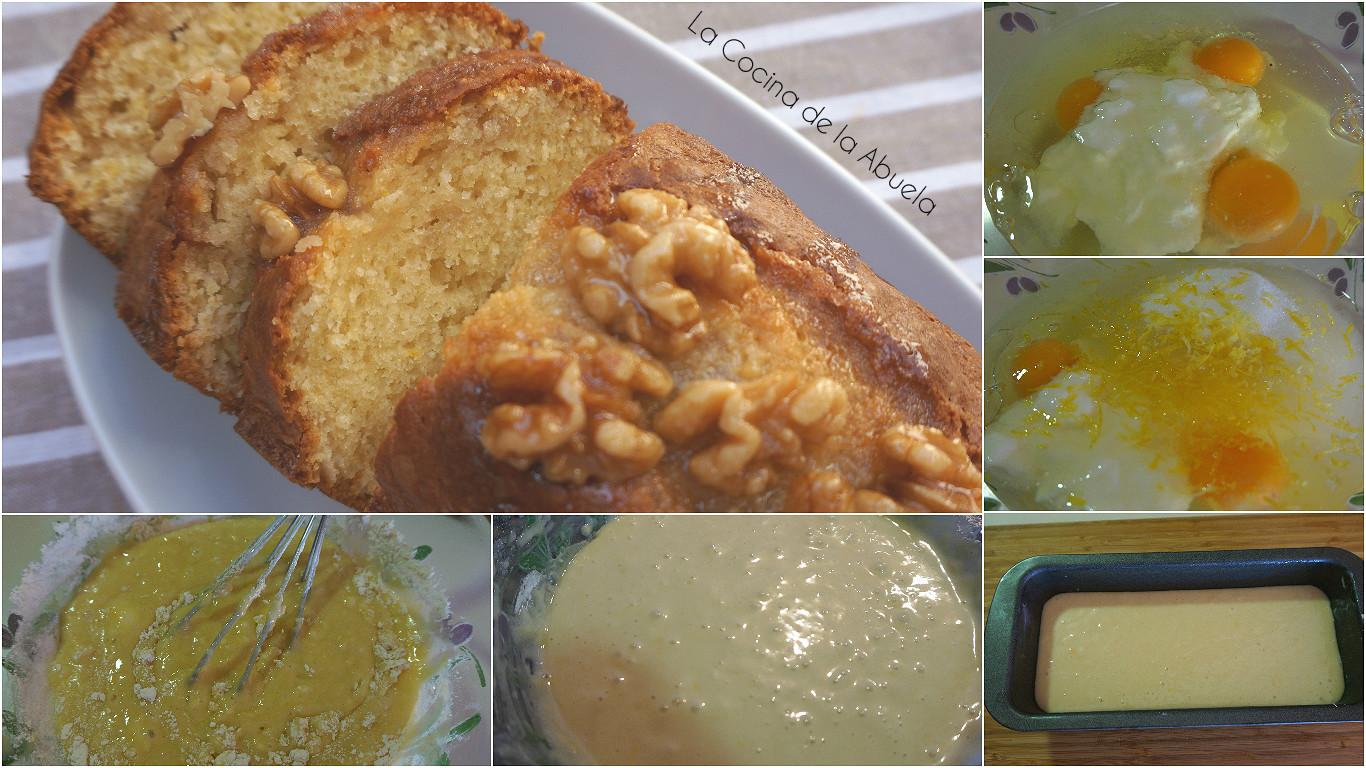 Bizcocho de yogur y lim n la cocina de la abuela for Bizcocho de yogur de limon esponjoso facil