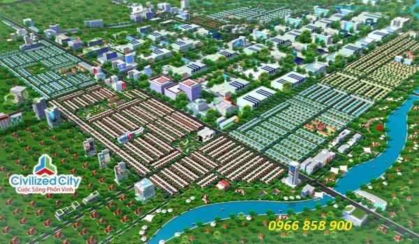 Phối cảnh tổng thể dự án Civilized City