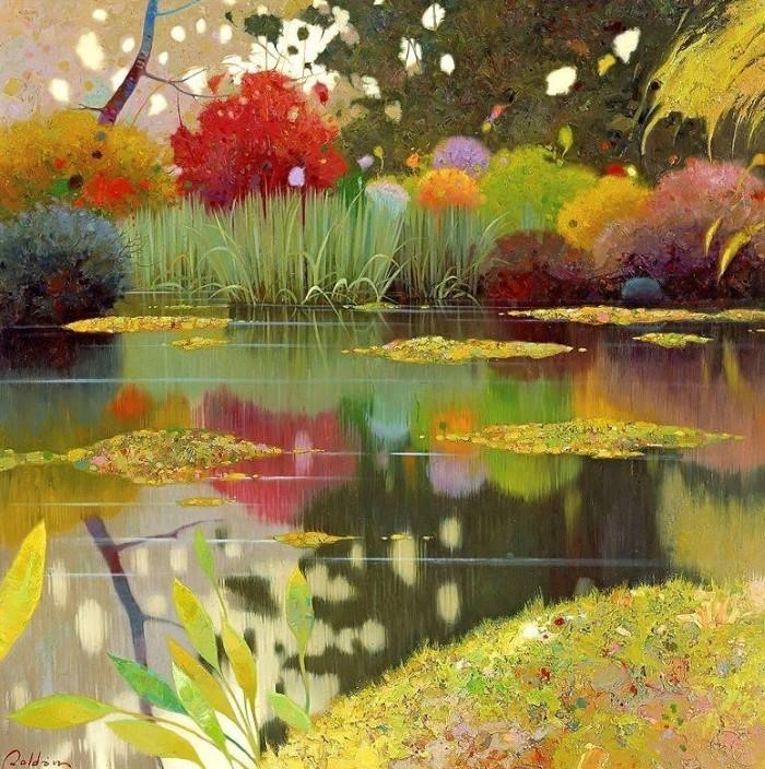 Цвет и поэзия. Pedro Roldan Molina