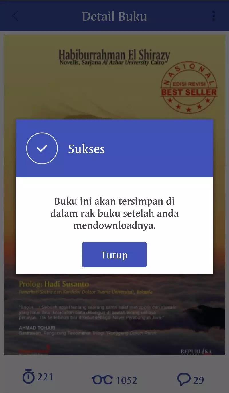 Baca buku daring di iPusnas