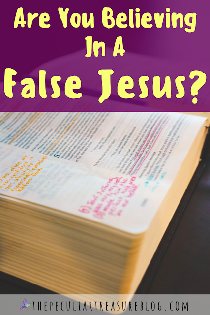 Are you trying to make Jesus into who you want Him to be? Are you believing in a false Jesus? Find out today. #faith #Christianity #bible