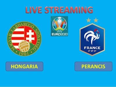 Link Live Streaming Euro 2020 HONGARIA Vs PERANCIS Berlangsung Di Stadion Puskás Ferenc