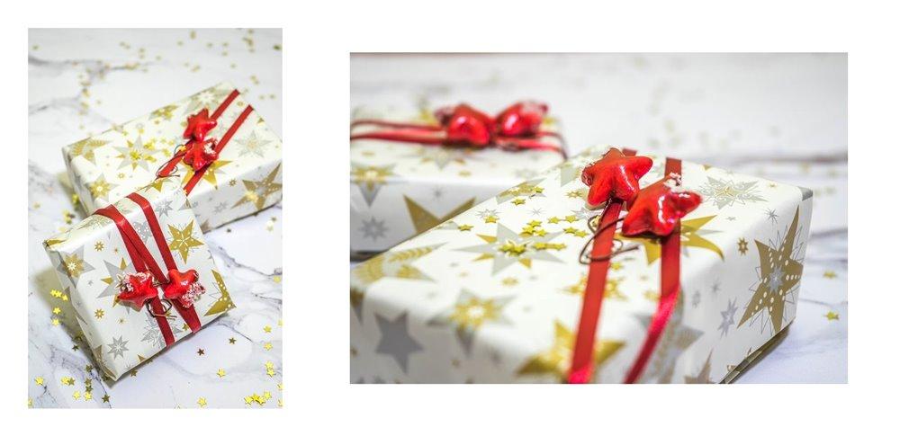 6a jak zapakować prezenty świąteczne w papier  pomysły na pakowanie prezentów jak zapakować pudełko w papier złote czerwone prezenty sposoby na pakowanie prezentów poradnik tutorial jak pakować