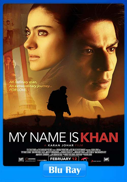 My Name Is Khan 2010 720p BRRip Hindi x264 | 480p 300MB | 100MB HEVC
