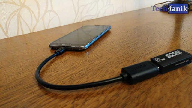 Jak podłączyć pendrive'a do smartfona?