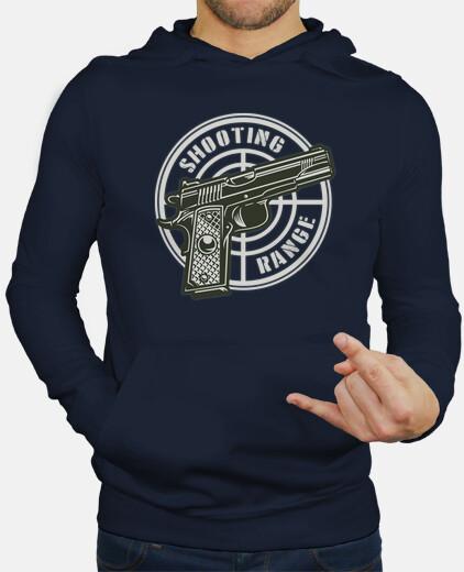 Sudaderas Hombre - Diseño Shooting Range