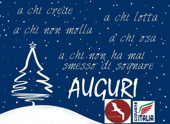 Buon Natale Italia.Fratelli D Italia Scandale Kr Auguri Di Lotta E Di Vittoria Buon Natale