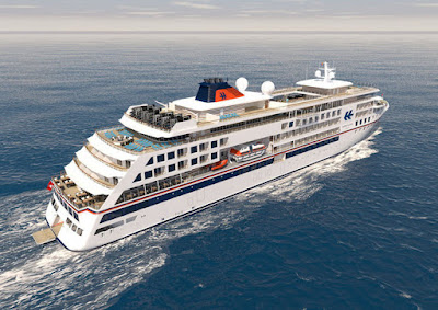 Artists Rendering of Hapag-Lloyd's New Hanseatic Nature and Hanseatic Inspiration.