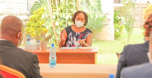 Kirinyaga Governor Anne Waiguru  photo