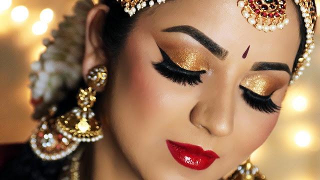 10 Bridal Makeup Ideas for an Indian Bride