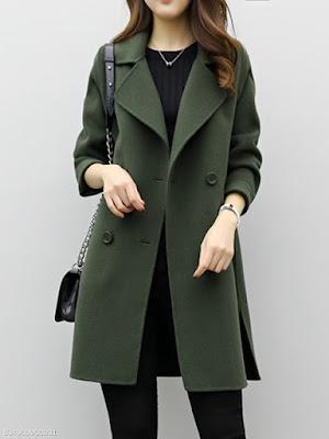 trendy dengan menggunakan coat