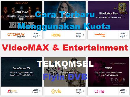 Cara Terbaru Menggunakan Kuota Videomax Telkomsel Dengan KPN Tunnel Rev