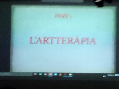 Presentació de l'Artteràpia com a sistema per el benestar dels cuidadors