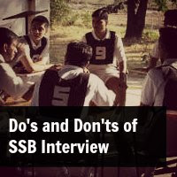 Do's and Don'ts of SSB Interview
