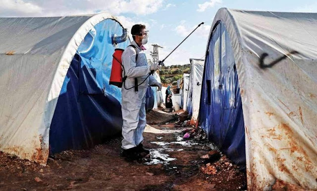 """الإدارة الذاتية لشمال شرق سوريا تعلن عن اخر حصيلة للاصابات والوفيات بفيروس """"كورونا"""" المتسجد"""