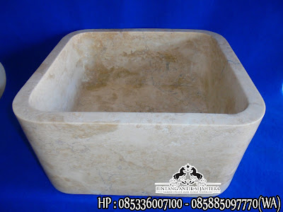 Wastafel Marmer Minimalis | Wastafel Batu Alam Murah