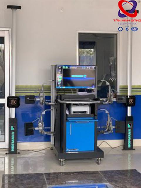 Bàn giao máy cân chỉnh góc lái 3D Hofmann Geoliner 790 cho khách hàng