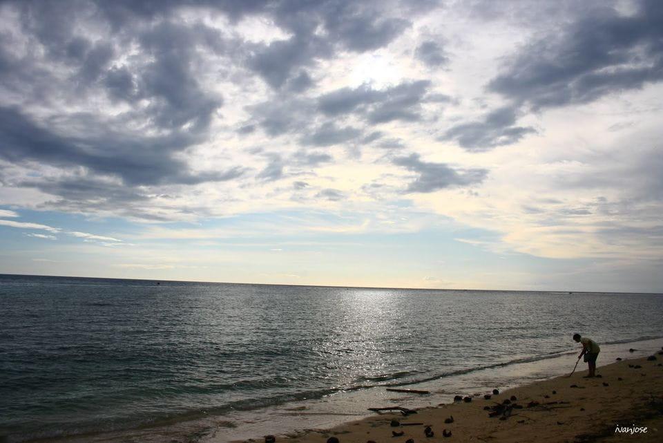 Beach along Sarangani Bay in Mindanao