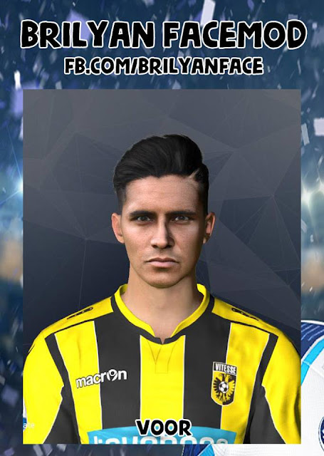 PES 2017 Navarone Foor Face by Brilyan