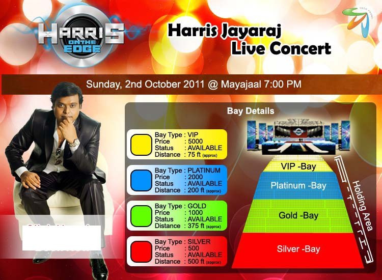 Star Vijay TV - Best Tamil Channel: Harris on the edge at