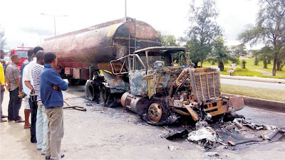 Black Friday as Tanker explodes, causes panic