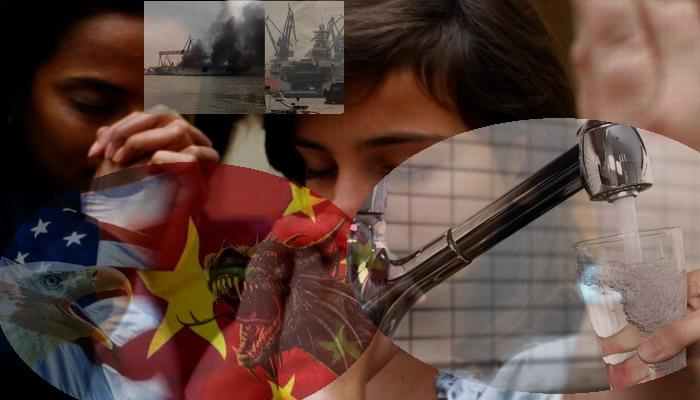 estallar una guerra en ingles