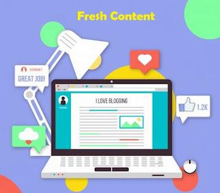 7 Tips Penting Untuk Menjaga Blog Anda Tetap Fresh Dan Up To Date