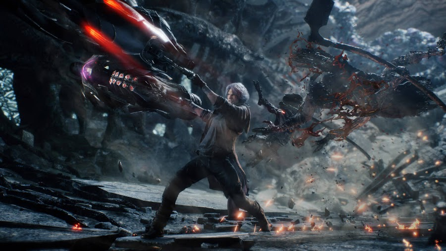devil may cry 5 dante gameplay video gamescom 2018