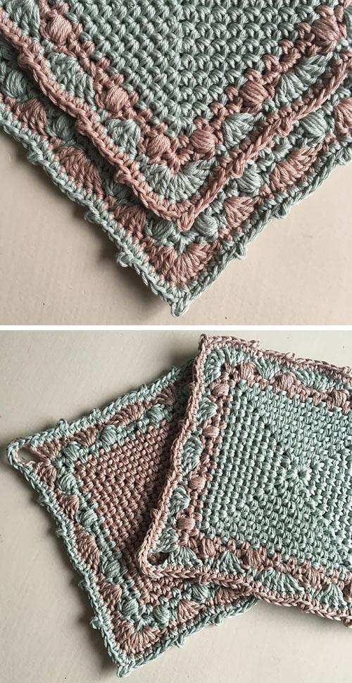 Make a Cake Potholder - Free Crochet Pattern