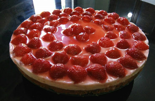 Cheesecake alla fragole