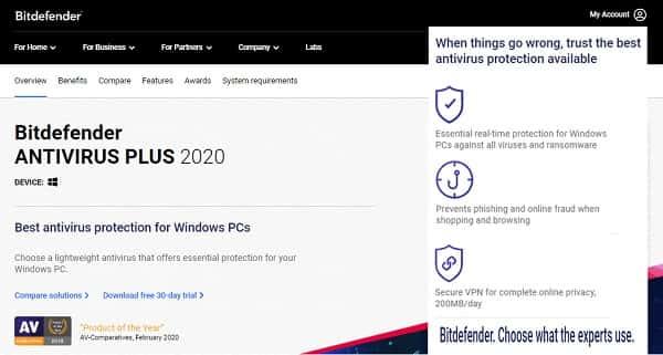 antivirus terbaik paling ampuh dan paling bagus untuk laptop Windows