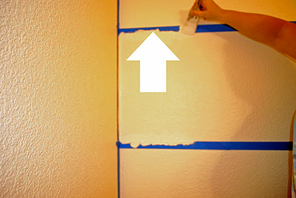 Trick to Painting Stripes