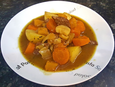 healthy slow cooker beef & vegetable stew recipe