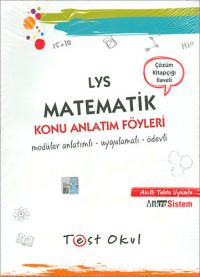 Test Okul AYT Matematik Konu Anlatım Föyleri PDF indir