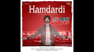 Hamdardi By Kay V Singh - Lyrics