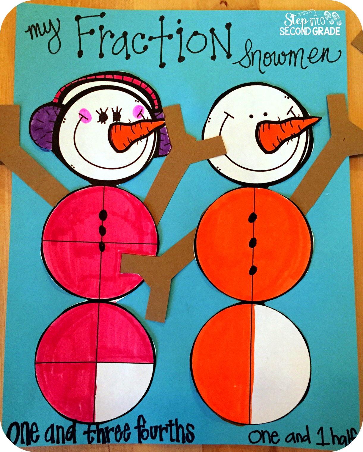 Step Into 2nd Grade With Mrs Lemons New Fraction Ideas Freebies And Videos