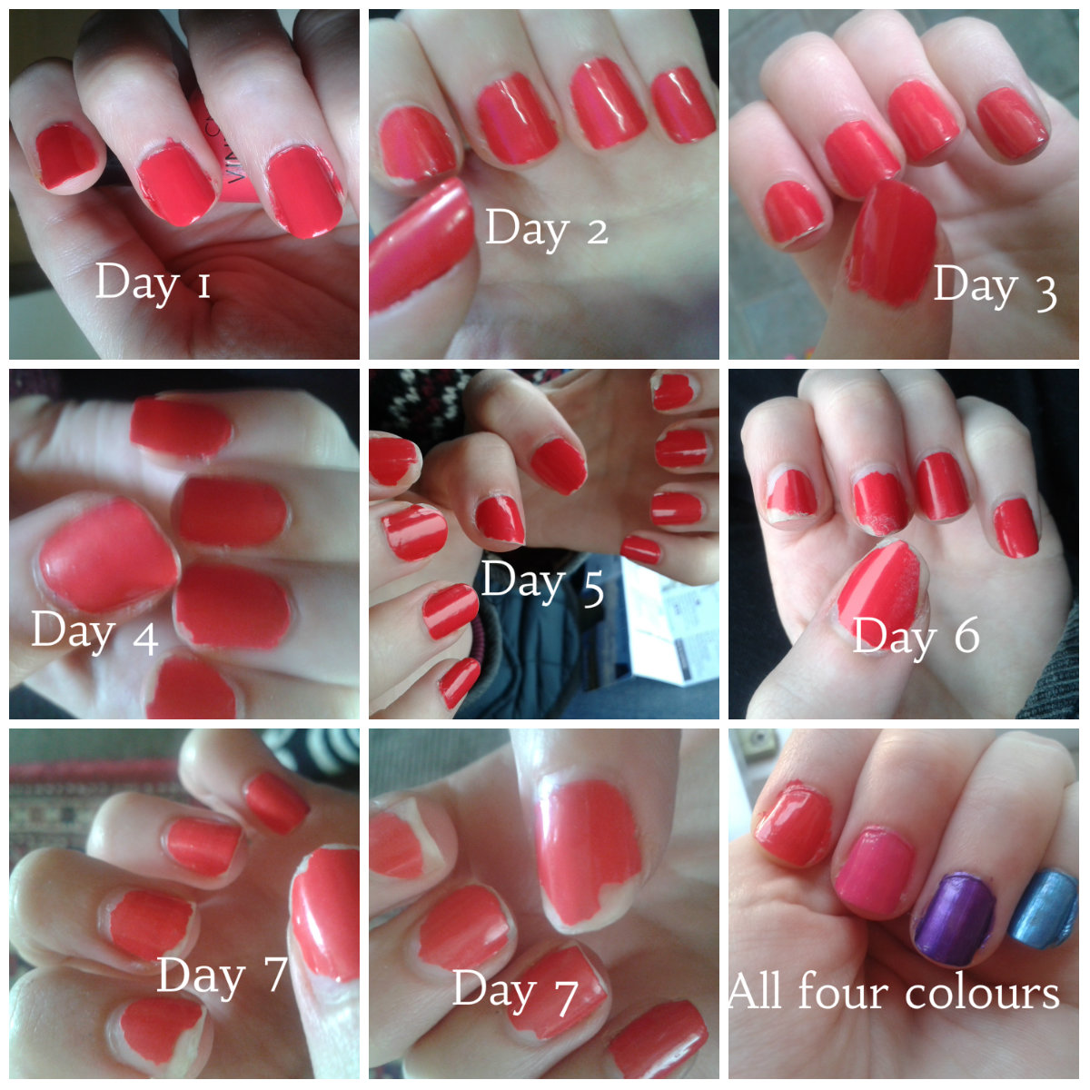 Five Past Five Review Cnd Vinylux