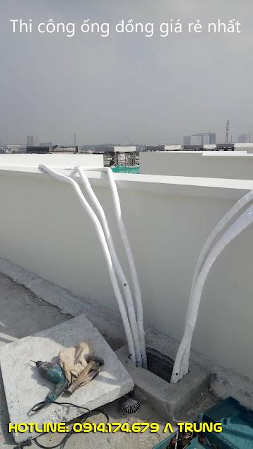 Thi công ống đồng quận 2 bảo hành chính hãng cho ống đồng và phụ kiện đi kèm