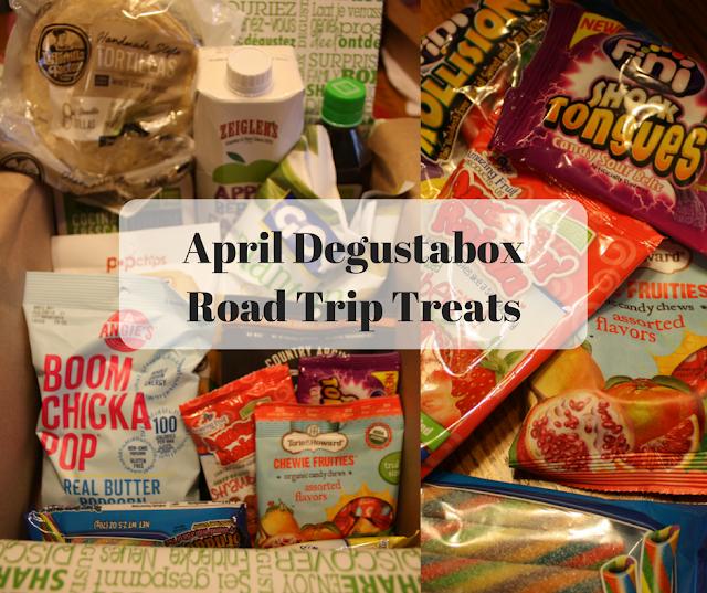 April Degustabox Road Trip Treats