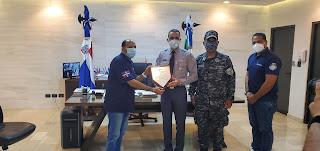 Reconocen al Director de la Policía Nacional Mayor General Lic. Edward Sánchez González