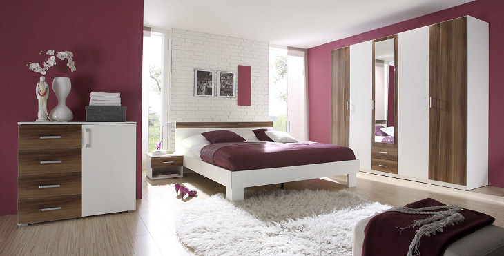 dormitorios morados violetas y lilas ideas para decorar dormitorios. Black Bedroom Furniture Sets. Home Design Ideas