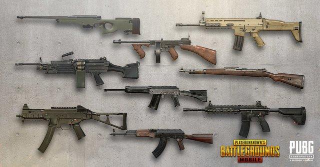 افضل تشكيله اسلحه في لعبه ببجي pubg وما هو اقوى سلاح - المحترف ...