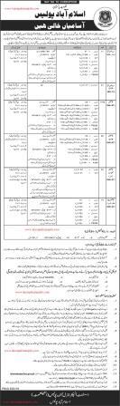 Islamabad Police Latest Jobs 2019 | Announced 1250+ Vacancies