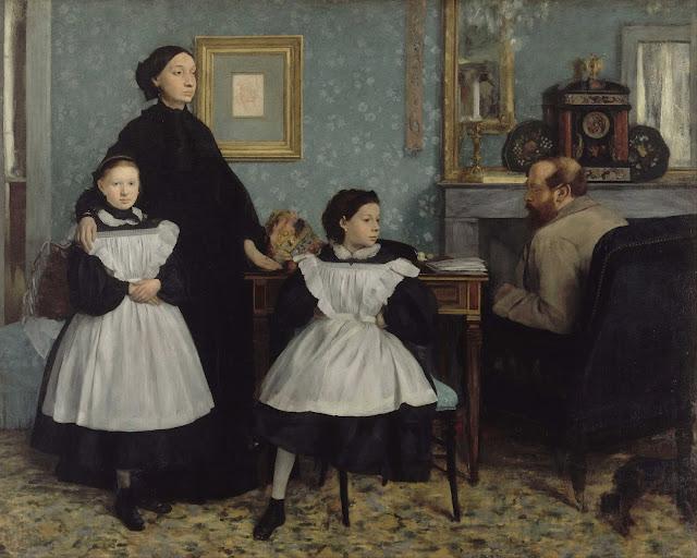 Эдгар Дега - Семейство Беллелли (1858-1859)