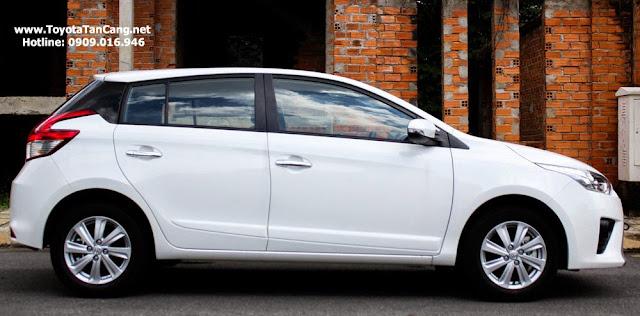 toyota yaris 2014 1 5163 - So sánh Ford Fiesta và Toyota Yaris : Ai là Vua xe Hatchback cỡ nhỏ - Muaxegiatot.vn
