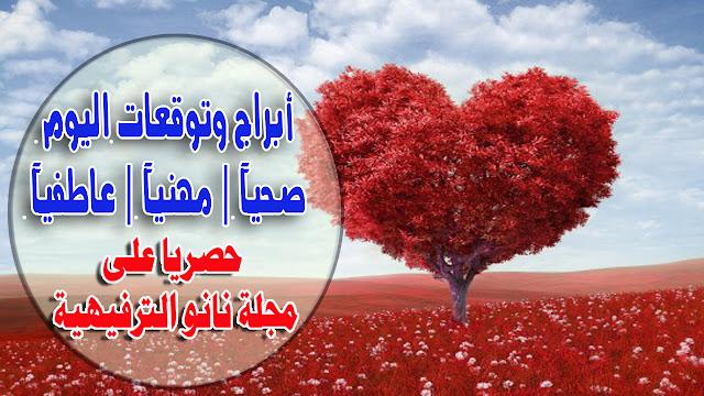 توقعات ابراهيم حزبون اليوم السبت 28/3/2020