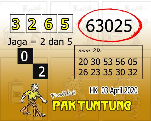 Prediksi Togel Hongkong Jumat 03 april 2020 - Prediksi HK Pak Tuntung