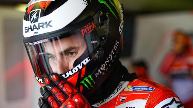 Pebalap Ducati, Jorge Lorenzo